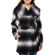 KC Collections Ombré Plaid Jacket