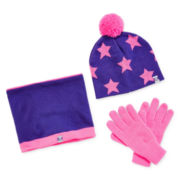 ZeroXposur® Monroe Beanie, Scarf and Gloves - Girls 7-16