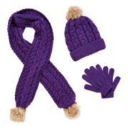Toby Beanie, Scarf and Gloves - Girls 7-16
