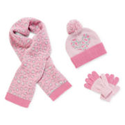 Toby Beanie, Scarf and Gloves - Girls 2t-6x