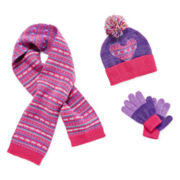 Toby Beanie, Scarf and Gloves - Girls One Size