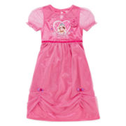 Barbie Dress-Up Nightgown - Toddler Girls 2t-4