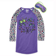 Starride Cheetah Sleep Shirt and Mask - Preschool Girls 4-6x