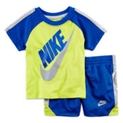 Nike® Drift Graphic Tee and Shorts Set - Baby Boys 12m-24m