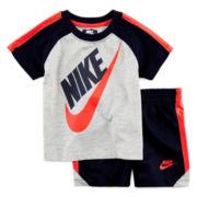 Nike® Winner Graphic Tee and Shorts Set - Baby Boys 12m-24m