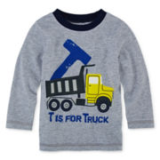 Okie Dokie® Long-Sleeve Graphic Tee - Baby Boys newborn-24m