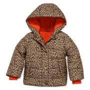 Carter's® Cheetah-Print Puffer Jacket - Baby Girls 12m-24m