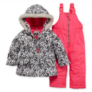 Carter's® Snowsuit and Jacket - Baby Girls 12m-24m