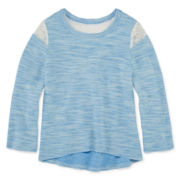 Arizona Lace-Shoulder Sweater - Preschool Girls 4-6x