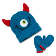 Monster Hat and Mittens Set - Boys