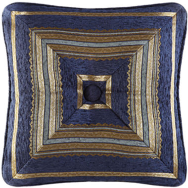 "jcpenney.com | Queen Street® Giovana 18"" Square Decorative Pillow"