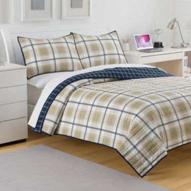 jcpenney.com | IZOD® Fairfax Plaid Quilt & Accessories