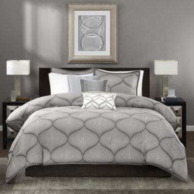 jcpenney.com | Madison Park Vella 6-pc. Duvet Cover Set