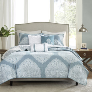 jcpenney.com | Madison Park Sadie 6-pc. Quilted Coverlet Set