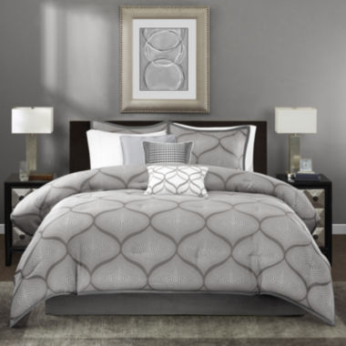jcpenney.com | Madison Park Vella 7-pc. Jacquard Comforter Set