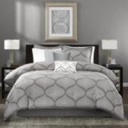Madison Park Vella 7-pc. Jacquard Comforter Set