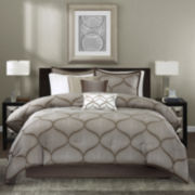 Madison Park Alandra 7-pc. Jacquard Comforter Set