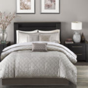 Madison Park Pensacola 7-pc. Jacquard Comforter Set