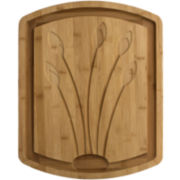 Totally Bamboo® Tulip Carving Board