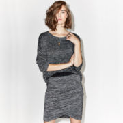 BELLE + SKY™ Knit Pocket Tee or Ruched Mini Skirt