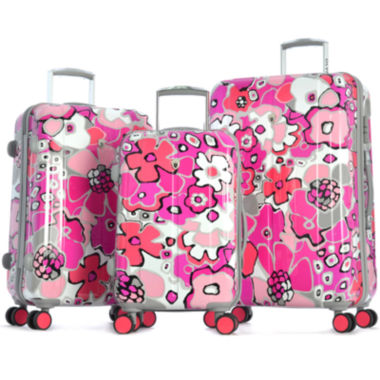 jcpenney.com | Blossom II Expandable Hardside Spinner Upright Luggage Collection