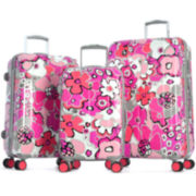 Blossom II Expandable Hardside Spinner Upright Luggage Collection