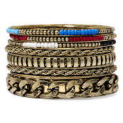 Mixit™ 7-pc. Bangle Bracelet Set
