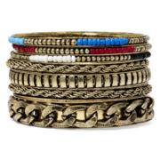Mixit™ 7-pc. Bangle Bracelet Set