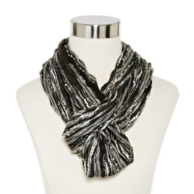jcpenney.com | Chevron Pleated Infinity Scarf