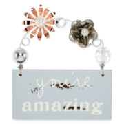 Messages from the Heart® by Sandra Magsamen® You're Amazing Hanging Plaque