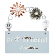 Messages from the Heart® by Sandra Magsamen® Best Friend Hanging Plaque