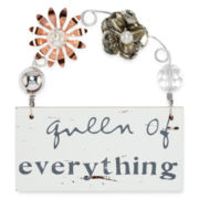 Messages from the Heart® by Sandra Magsamen® Queen Hanging Plaque