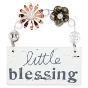 Messages from the Heart® by Sandra Magsamen® Blessing Hanging Plaque
