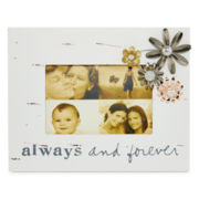 Messages from the Heart® by Sandra Magsamen® Always and Forever Picture Frame