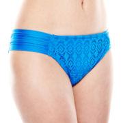 Stylus™ Crochet Hipster Swim Bottoms