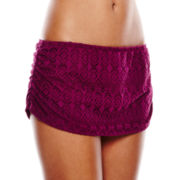 Stylus™ Crochet Skirted Swim Bottoms