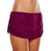 Stylus™ Crochet Skirted Swim Bottoms