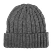 Stafford® Cable Knit Cuff Beanie