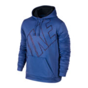 Nike® KO Big Block Fleece Pullover Hoodie