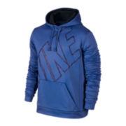 Nike® KO Big Block Fleece Pullover Hoodie