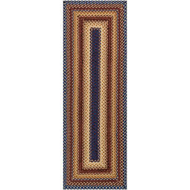 Canyon Reversible Braided Indoor Outdoor Runner Rug Jcpenney