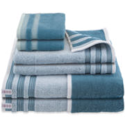 IZOD® Oxford 6-pc. Bath Towel Set