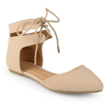 jcpenney.com | Journee Collection Ziko Ankle Strap Ballet Flat