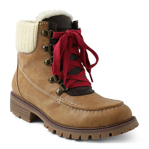 UNIONBAY® Larissa Lace-Up Boots