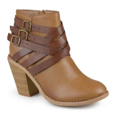 jcpenney.com | Journee Collection Strap Ankle Booties