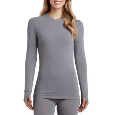 jcpenney.com | Cuddl Duds® Active Layer V-Neck Shirt