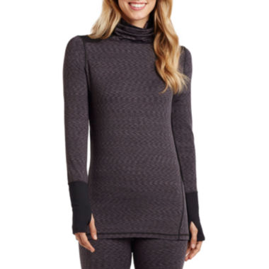 jcpenney.com | Cuddl Duds® Flex Fit Long-Sleeve Turtleneck Shirt