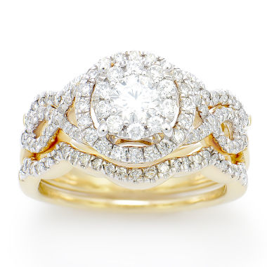 jcpenney.com | 1 1/4 CT. T.W. White Diamond 14K Gold Cocktail Ring