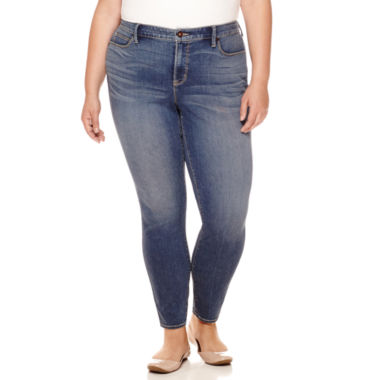 jcpenney.com | Stylus™ Perfect Skinny Jeans - Plus