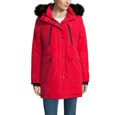 jcpenney.com | a.n.a® Military Faux-Fur-Trim Parka